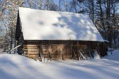Vertiente de madera vieja Fotografía de archivo libre de regalías