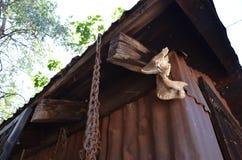 Vertiente oxidada Foto de archivo libre de regalías