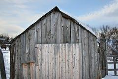 Vertiente vieja del granero foto de archivo libre de regalías