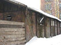 Vertientes arruinadas, Kraków foto de archivo libre de regalías