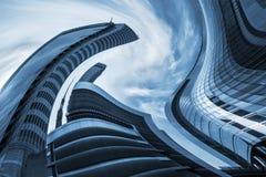 Vertigem arquitetónica Fotografia de Stock Royalty Free