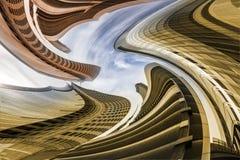 Vertigine architettonica Fotografie Stock Libere da Diritti