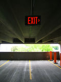 Vertigo Exit. Exit to the right Stock Images