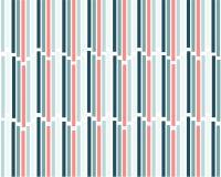 Vertikal abstrakt geometrisk kulör bakgrund som består av en uppsättning av linjer royaltyfri illustrationer