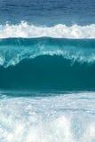 Vertikal bild för härlig tropisk oceanisk bakgrund Royaltyfri Bild