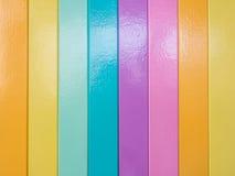 Vertikal färgbandtapet Royaltyfri Fotografi