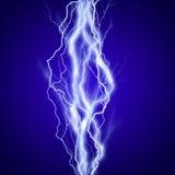 Vertikal lighteningseffektbakgrund vektor illustrationer