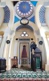 Vertikal panorama för storslagen moské, i Constanta, Rumänien royaltyfri foto