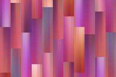 Vertikal rektangel för väggen Fotografering för Bildbyråer