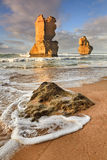 Vertikal strand för GOR 2 apostlar Royaltyfria Bilder