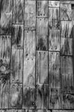 Vertikal väggbakgrund för Wood planka Arkivfoton