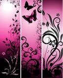 vertikala baner royaltyfri illustrationer