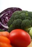 vertikala blandade grönsaker Royaltyfri Foto