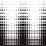 Vertikala Dots Halftone Pattern Arkivfoto