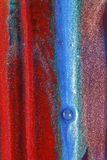 vertikala färgrika band Arkivbild