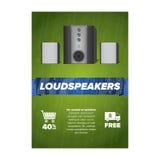 Vertikala försäljningsflayers Fotografering för Bildbyråer