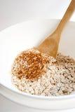 vertikala kanelbruna oats Royaltyfria Foton