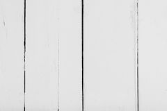 Vertikala vita träbräden med textur för bakgrund Horisontal inrama Royaltyfri Fotografi