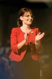 Vertikale 4 Reglersarah-Palin Stockfotografie