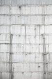 Vertikale Beschaffenheit der Betonmauer im Bau Lizenzfreie Stockbilder