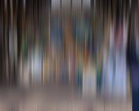 Vertikale Farblinien und Flecke Stockfoto