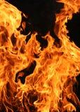 Vertikale Flammen Lizenzfreie Stockfotografie