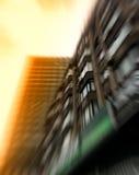 Vertikale Geschäftsgebäudeabstraktion Stockbilder