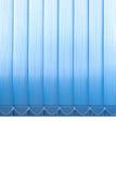 Vertikale Gewebevorhänge des Fensters Lizenzfreies Stockbild
