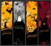 Vertikale Halloween-Fahnen Lizenzfreies Stockbild