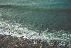 Vertikale Küste Lizenzfreies Stockfoto