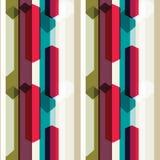 Vertikale Linie Muster Lizenzfreies Stockfoto