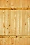 Vertikale Planken mit zwei horizontal Lizenzfreies Stockfoto