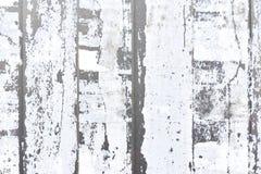 Vertikale Streifen des weißen heftigen Papiers Stockfotografie