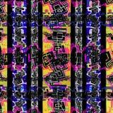 Vertikale Streifen-Stammes- Muster Stockfoto