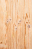 Vertikale Struktur des Holzes mit Streifen und Knoten Lizenzfreie Stockfotos