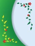 Vertikaler abstrakter Hintergrund mit Blumen lizenzfreie abbildung