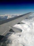 Vertikaler Jet-Flügelhintergrund Lizenzfreie Stockbilder