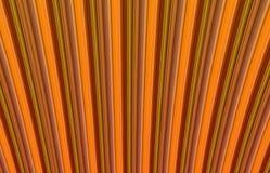 Vertikaler Rippeneffekt des abstrakten geometrischen Tones des Hintergrundes bräunlichen orange Lizenzfreies Stockfoto