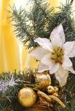 Vertikaler Weihnachtsrand Stockfotografie
