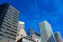 Vertikales Boston lizenzfreies stockbild