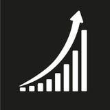 Vertikales Diagramm Stockfoto