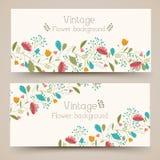 Vertikales Fahnenkonzept der Retro- Blume Taube als Symbol der Liebe, pease Lizenzfreie Stockbilder