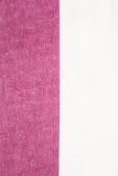 Vertikales Muster zwei Tönen der Rohbaumwollebeschaffenheit von Stockfoto
