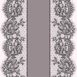 Vertikales nahtloses Muster Stockfotografie