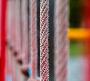 Vertikales Seil Stockfotos