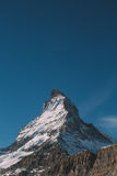 Vertikalt berg Royaltyfria Bilder