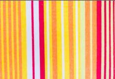 Vertikalt färgrikt av handduken Arkivbilder