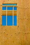 vertikalt fönster Arkivfoto