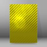 Vertikalt format glödande background29 för broschyrräkningsmall Royaltyfria Bilder