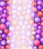 Vertikalt inbjudankort med Gem Stone Pattern Royaltyfri Bild